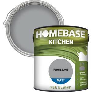 Homebase Kitchen Matt Paint - Flintstone 2.5L