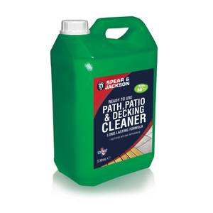 Spear & Jackson Path & Patio Cleaner 5L RTU
