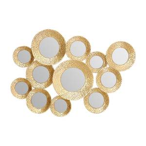 Marcia Hammered Gold Wall Mirror
