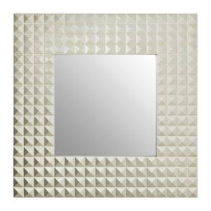 Champagne 3D Geometric Wall Mirror