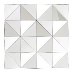 Geometric Square Wall Mirror