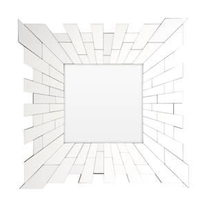 Glitzy Square Wall Mirror