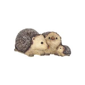 Resin Hedgehog Family