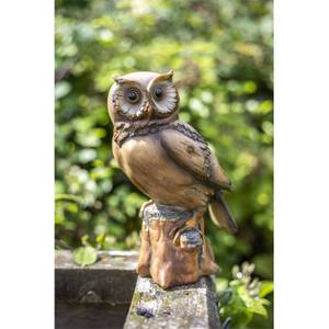 Resin wood Effect Owl