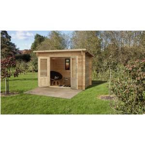Harwood 3.0m x 2.0m Log Cabin 24kg Felt no Underlay