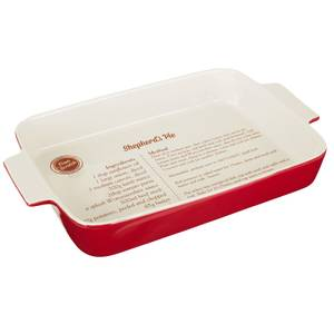 From Scratch Red Stoneware Oven Dish - 3.2L