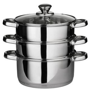 Stainless Steel Steamer with 6 Handles