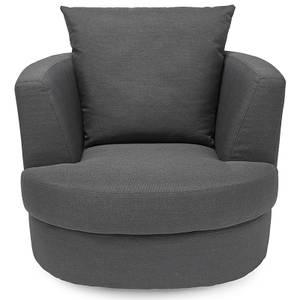 Bliss Small Swivel Chair - Grey