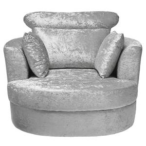 Bliss Large Swivel Chair - Silver