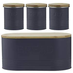 Typhoon Essentials 4 Piece Jar Set - Blue