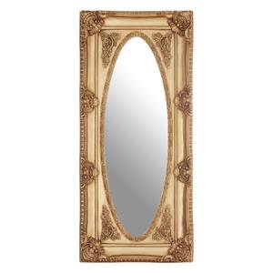 Cassis Oval Border Wall Mirror - Gold