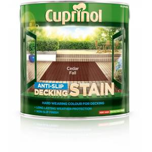 Cuprinol Ultra Tough Deck Stain Cedar Fall - 2.5L