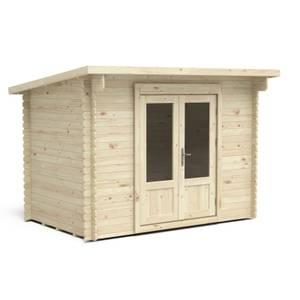 Forest Harwood 3.0m x 2.0m Log Cabin 24kg Felt Plus Underlay