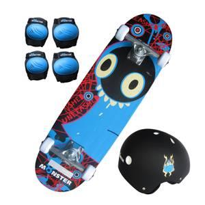 Charles Bentley Kids 28 Monster Skateboard Set