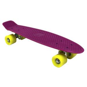 Charles Bentley 22 Retro Mini Plastic Skateboard Purple