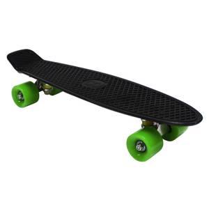 Charles Bentley 22 Retro Mini Plastic Skateboard Black