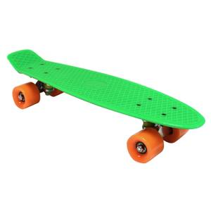 Charles Bentley 22 Retro Mini Plastic Skateboard Green