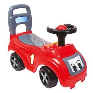 Dolu Sit N Ride Push Along Car Red