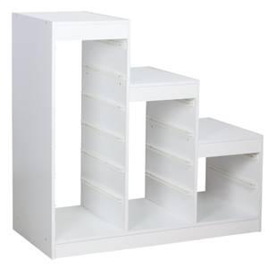 Eden Storage Drawers Frame - White