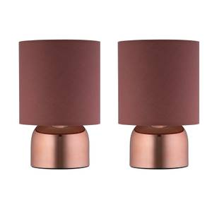 Marlow Copper Touch Lamps - Set of 2