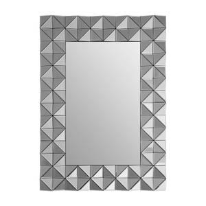 Compton 3D Geometric Wall Mirror