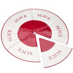 Hollywood Pizza 6 Slice Plates