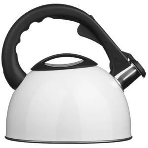 Whistling Kettle - 2.5Ltr - White
