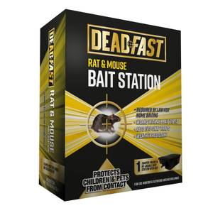 Deadfast Mouse & Rat Bait Station Only Single