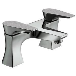Metallix Hourglass Bath Filler - Silver Sparkle