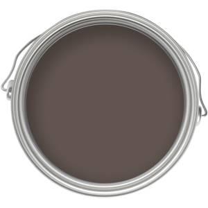 Homebase Smooth Masonry Paint - Bitter Chocolate 2.5L