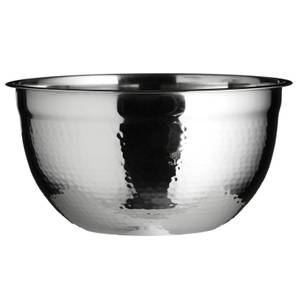 Large Mixing Bowl - Hammered Effect
