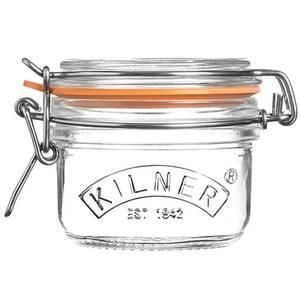 Kilner Clip Top Round Jar - 125ml