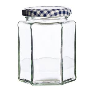 Kilner Hexagonal Twist Top Jar - 280ml