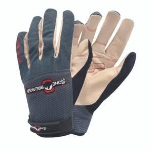 StoneBreaker Nailbender Trades Work Gloves - Extra Large - Charcoal