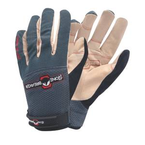 StoneBreaker Nailbender Trades Work Gloves - Large - Charcoal
