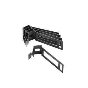 D-Line 20mm Conduit Saddle 5 Pack - Black