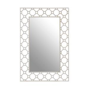 Zara Arabesque Wall Mirror - Silver