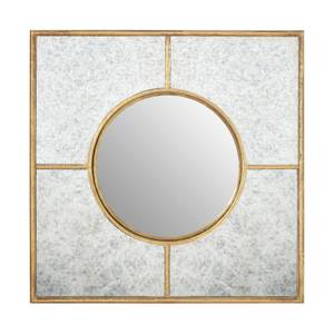 Zara Gold Art Deco Wall Mirror