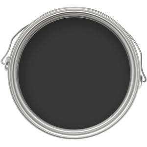 Homebase Exterior Gloss Paint - Black 750ml