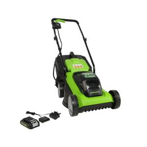 Greenworks 24V Lawnmower With Battery And Charger