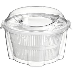 Salad Spinner - Clear & White