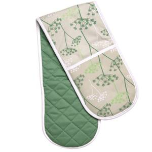 Cow Parsley Double Oven Glove
