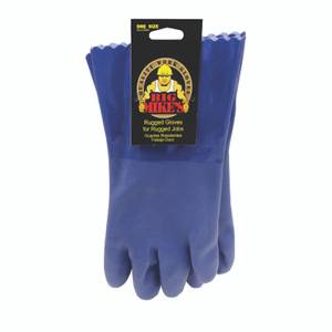 Big Mikes by Stonebreaker PVC Gauntlet Gloves - One Size