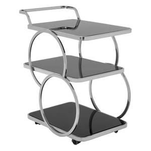 Varo Chrome Drinks Trolley