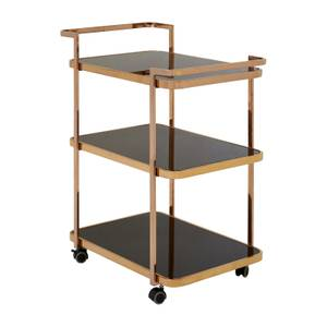 Varo Rose Gold Drinks Trolley