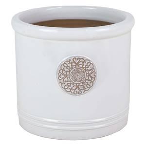 Glazed Heritage Cream Cylinder - 38cm