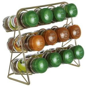 Vertex Spice Rack - Gold Finish
