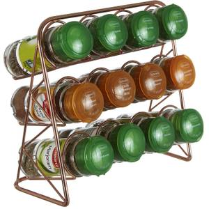 Vertex Spice Rack - Copper Finish