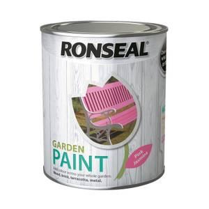Ronseal Garden Paint - Pink Jasmine 750ml