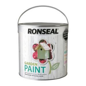 Ronseal Garden Paint - Sapling Green 2.5L